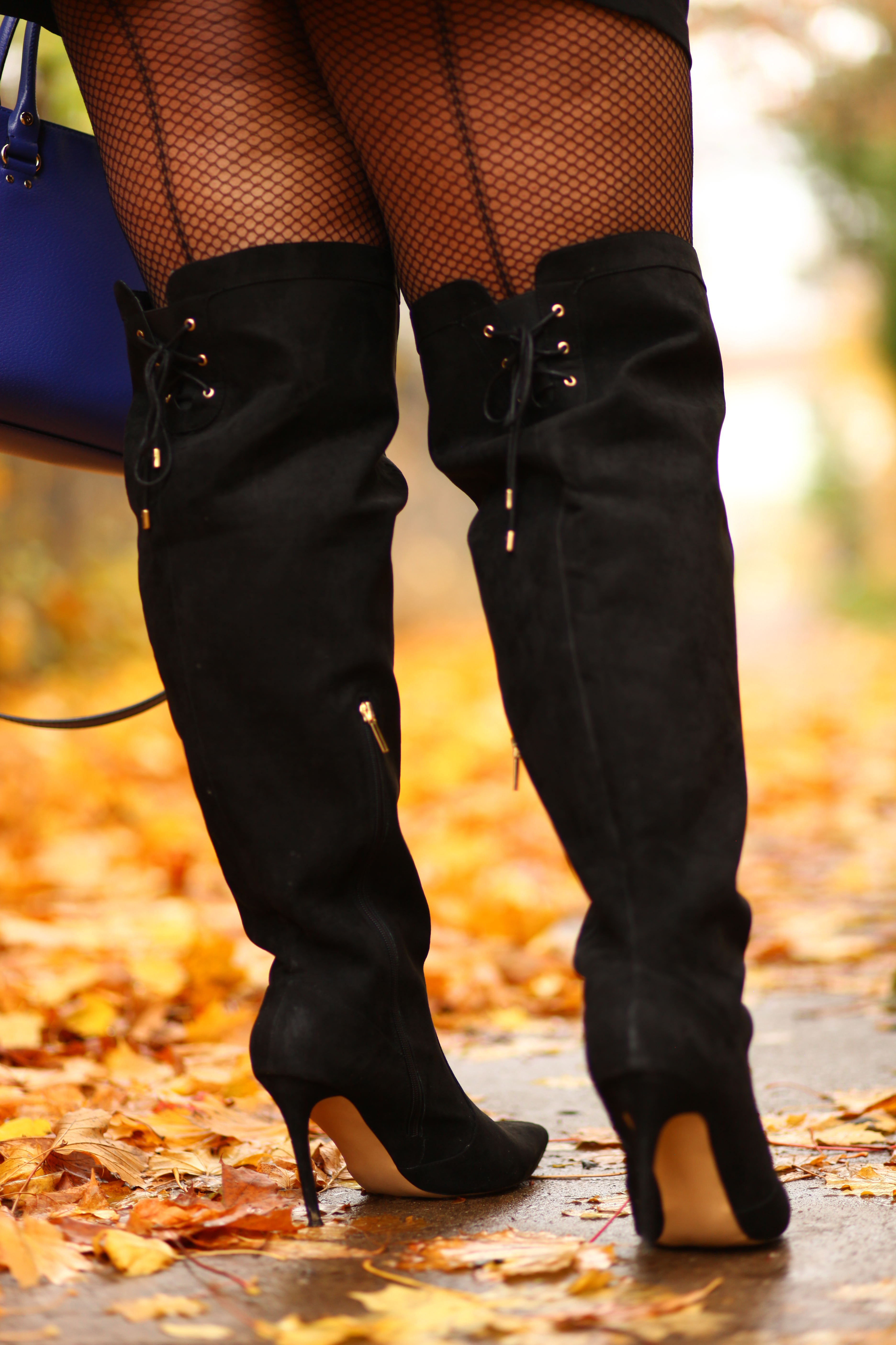 Wide Shaft Over The Knee Boots