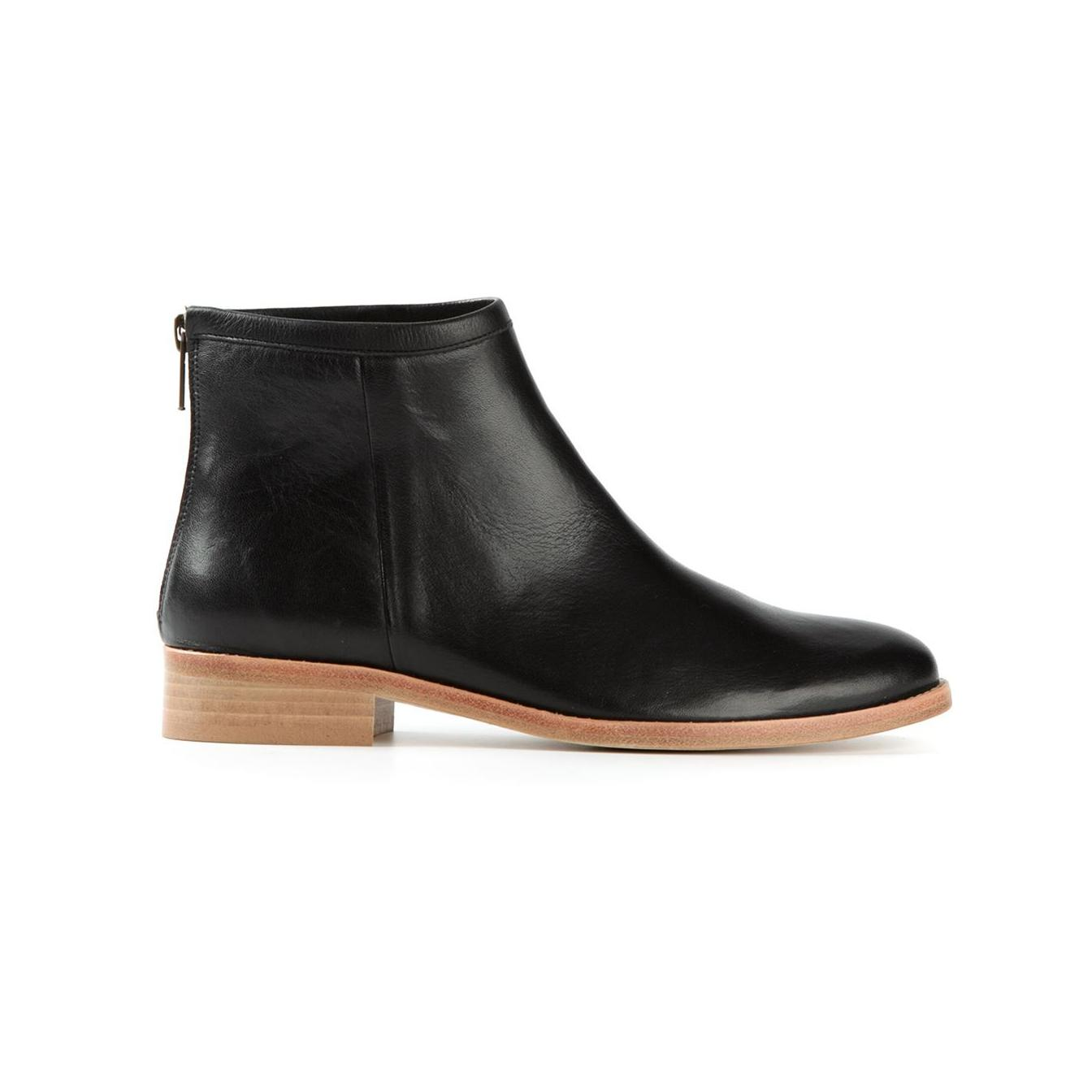 ankle boots no heel