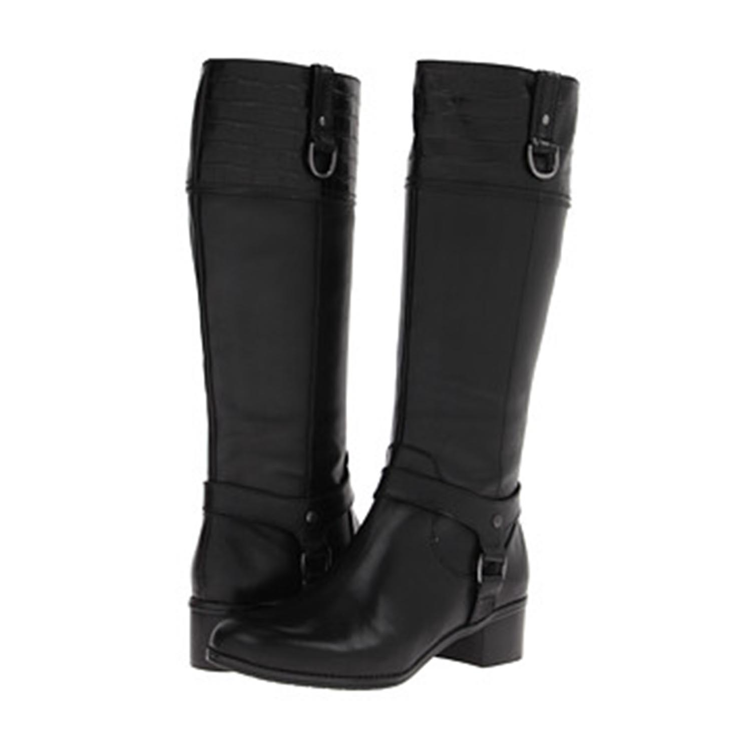 New Womens Black Leather Boots  Newhairstylesformen2014com