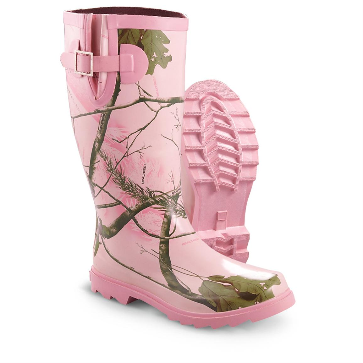 Womens Pink Camo Muck Boots - Boot Yc