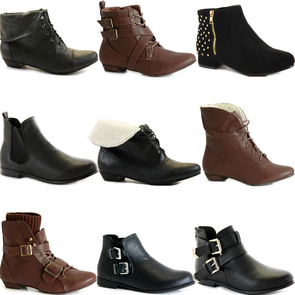 Ankle Boots Without Heels - Boot Yc a1a16e4ab
