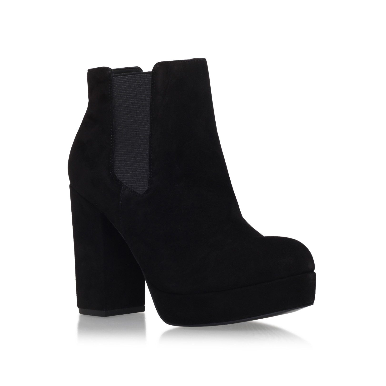 black ankle boots high heel boot yc