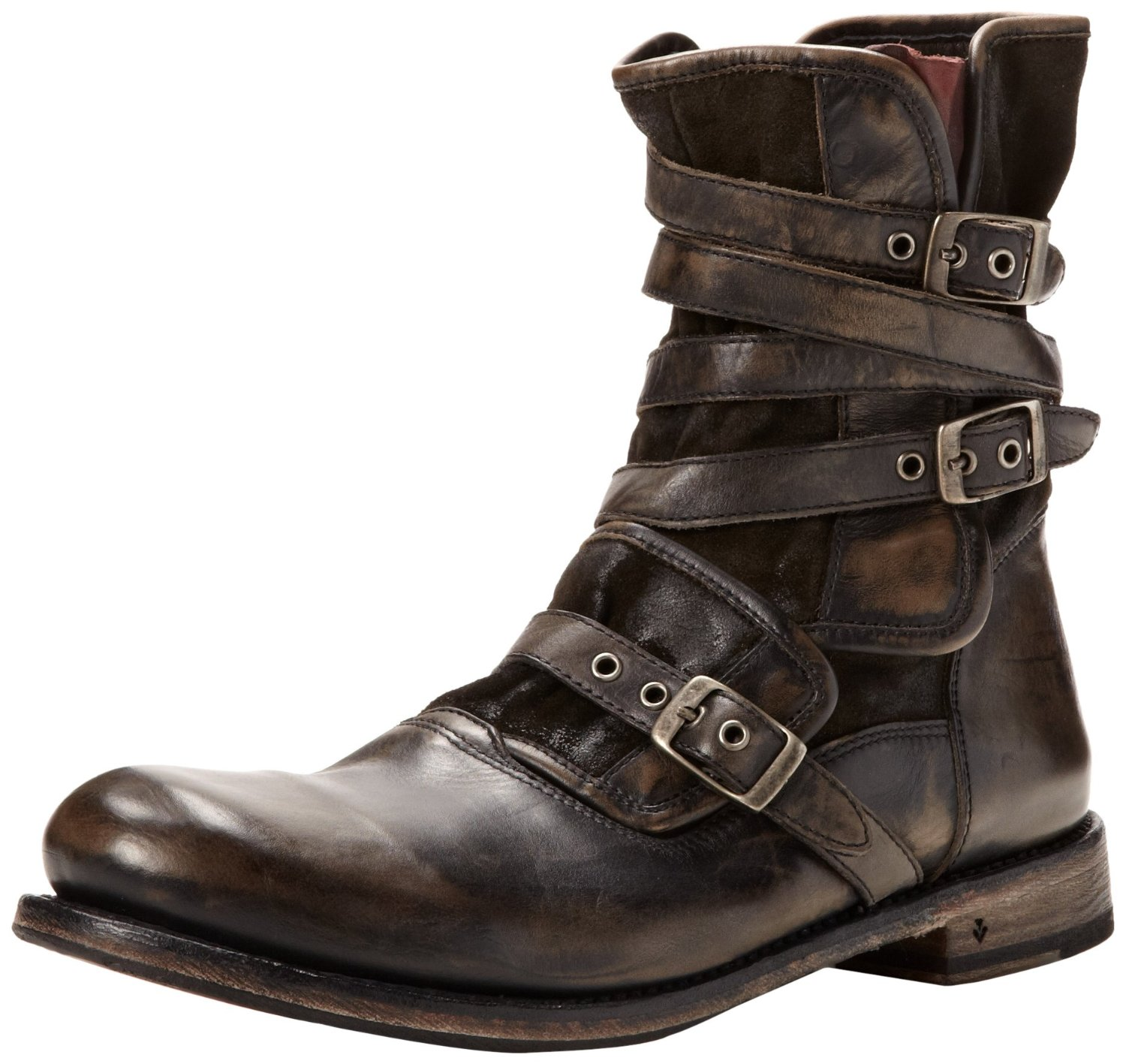 Mens Boots With Buckle Boot Yc