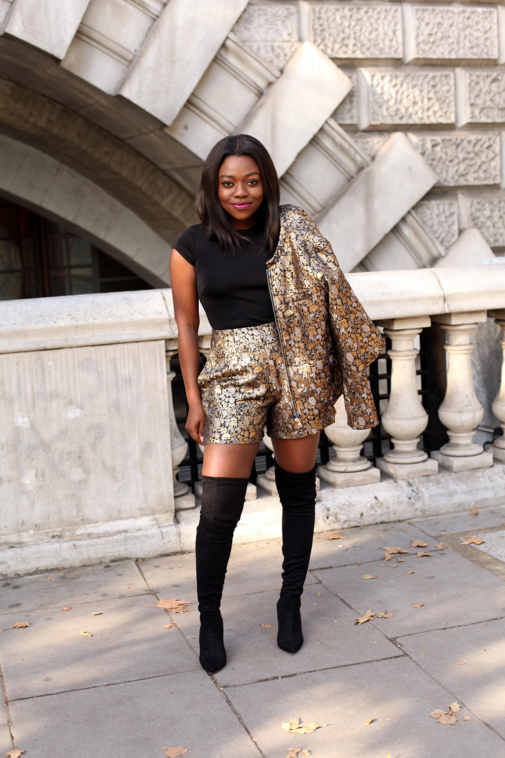 shorts with thigh high boots boot yc