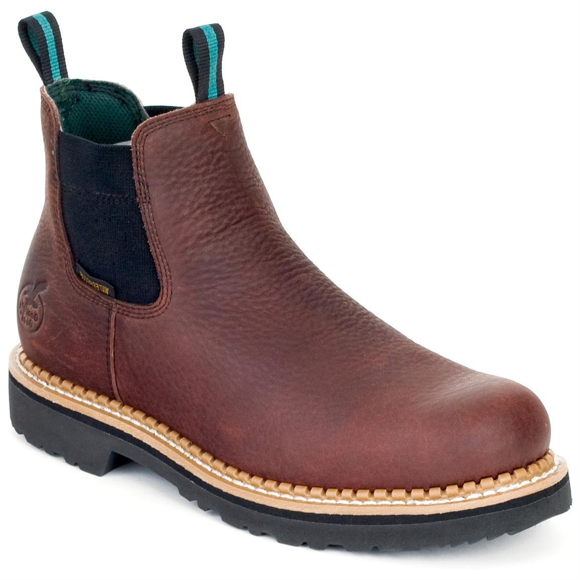 Slide On Work Boots - Boot Yc