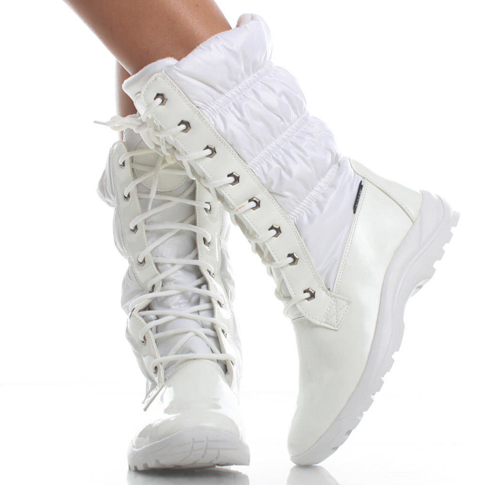 White Winter Snow Boots - Boot Yc