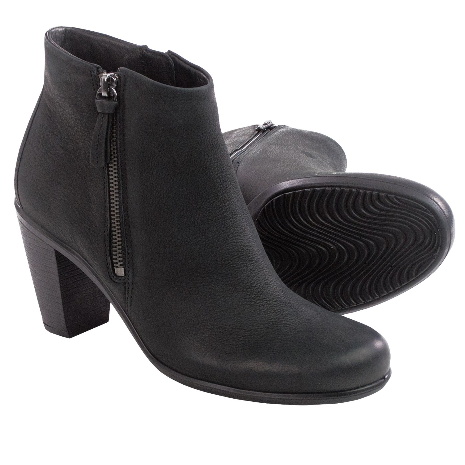 Womens Leather Ankle Boots Sale - Boot Yc