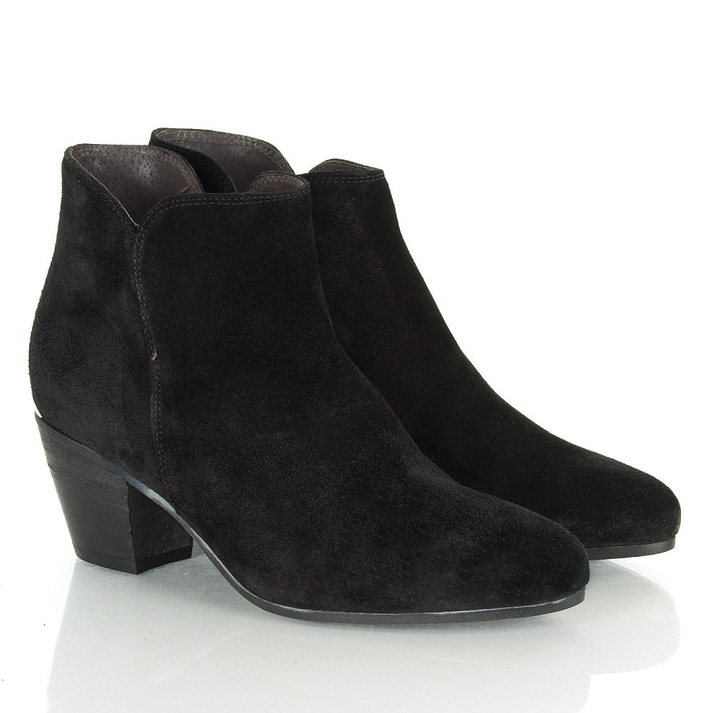 Black Ankle Suede Boots ho3Gh4ix