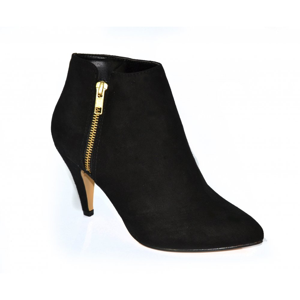 Black Ankle Suede Boots 8hqRJbAx