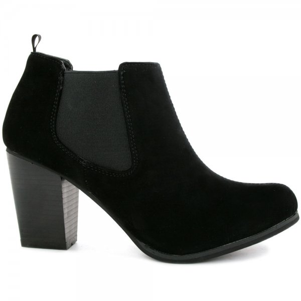 Black Ankle Suede Boots cMiAhazY