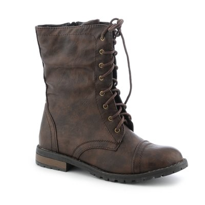 Combat Boots For Girls Brown xNT1WVpx