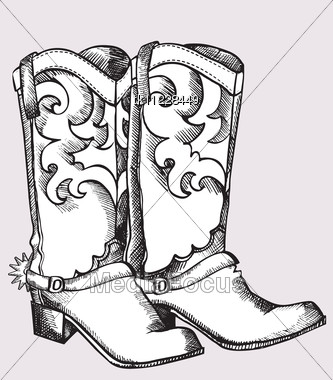 Cowboy Boots With Designs uyz3v4mZ