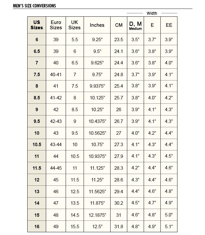 Danner boot sizing guide boot yc