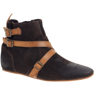 Flat Ankle Boots Suede OCbJb7PE