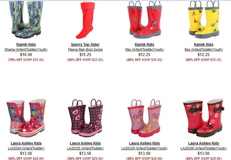 Kids Rain Boots On Sale XxR09IzX