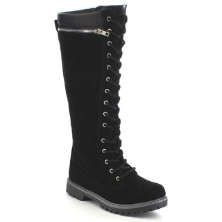 Knee High Combat Boots Women qTImbuKN