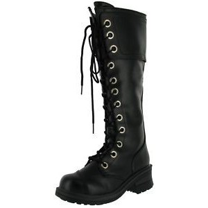 Knee High Combat Boots Women llzLErk9
