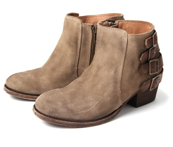 Ladies Suede Ankle Boots OQqBspO0