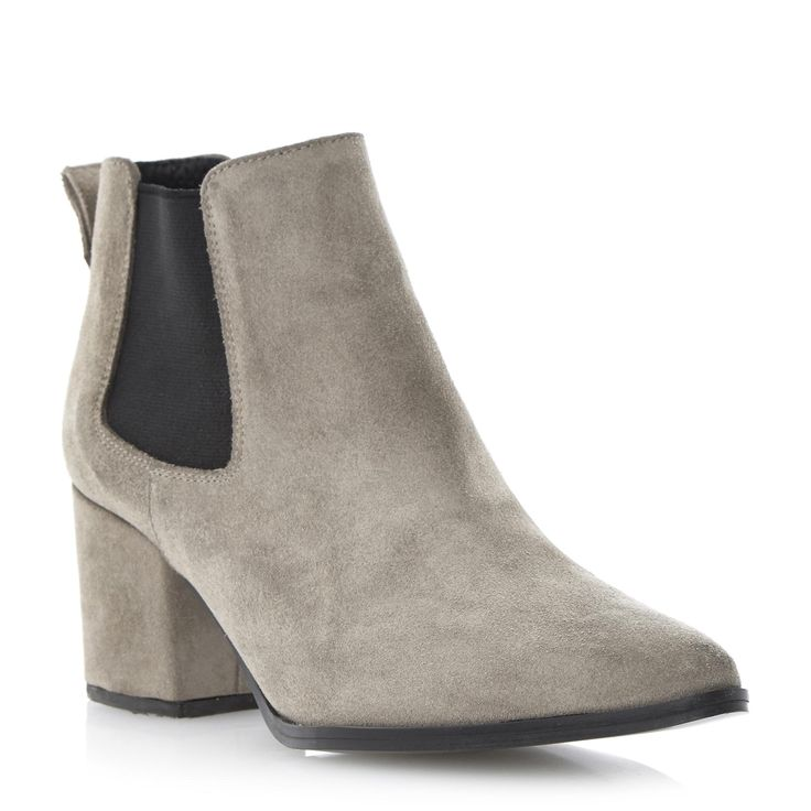 Ladies Suede Ankle Boots Vp2xe66d