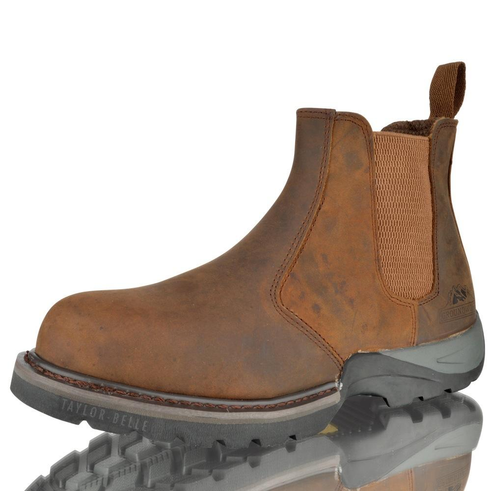 Mens Ankle Work Boots - Boot Yc