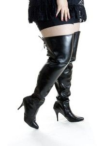 Plus Size Boots Thigh High Boot Yc