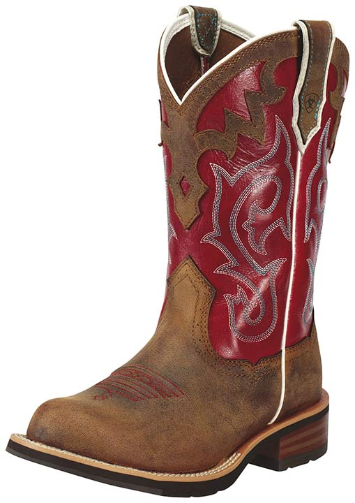 Red Ariat Cowboy Boots 4u07zrJV