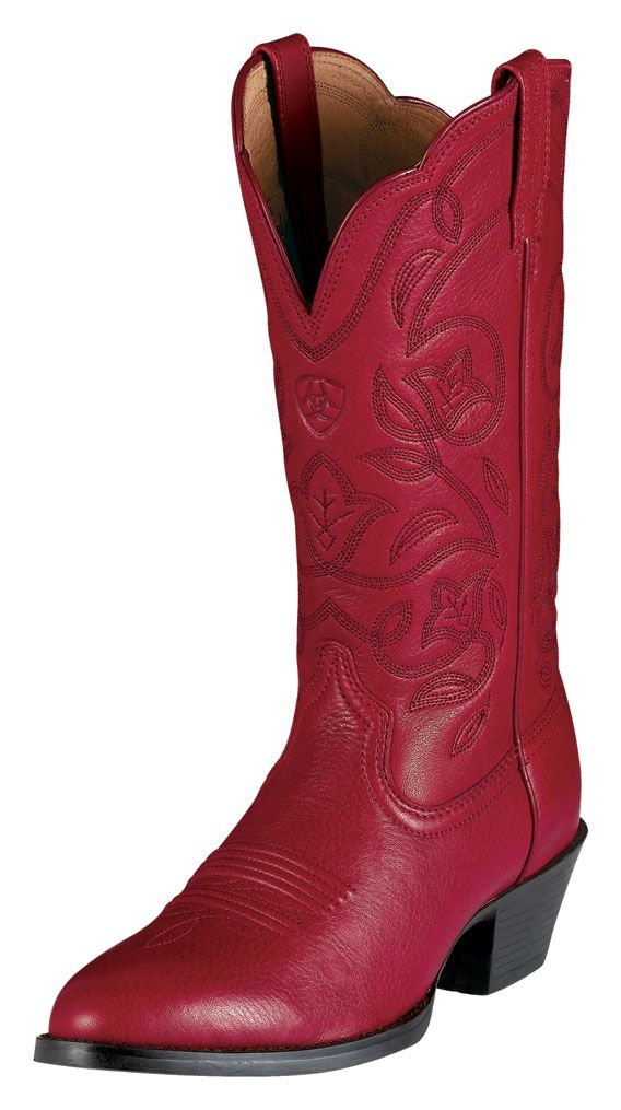 Red Ariat Cowgirl Boots Boot Yc