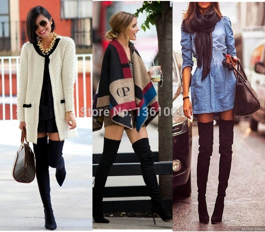 Skinny Thigh High Boots aD5CG3vE