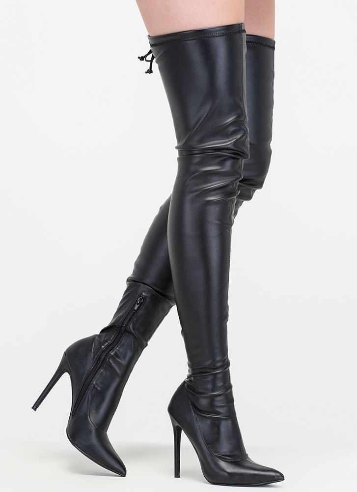 thigh high boots with heels boot yc