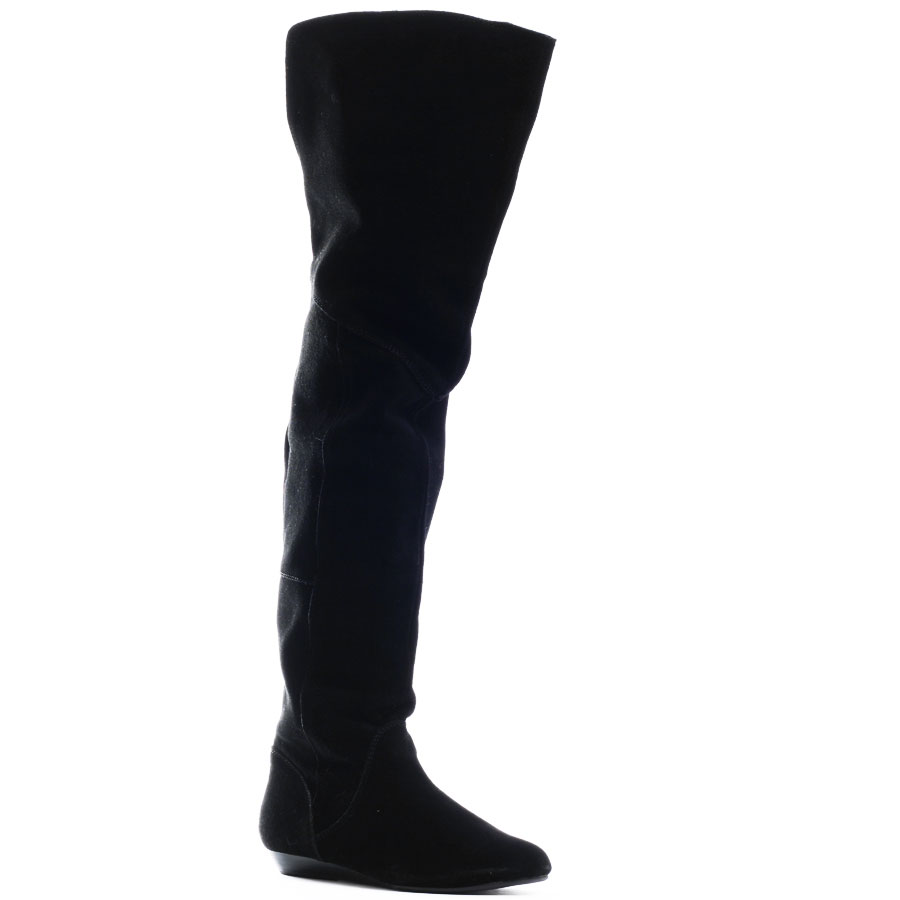 Thigh High Boots With No Heel EjcCZrsE