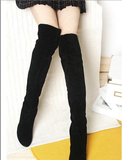 Thigh High Boots With No Heel OjOxk7jO