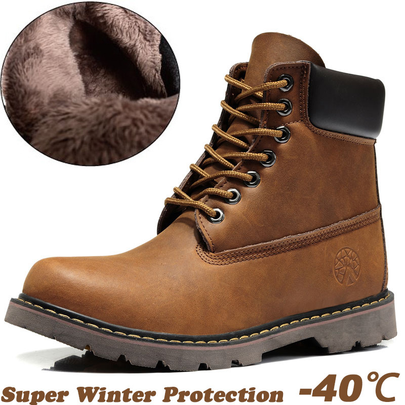 Warm Snow Boots For Men - Boot Yc
