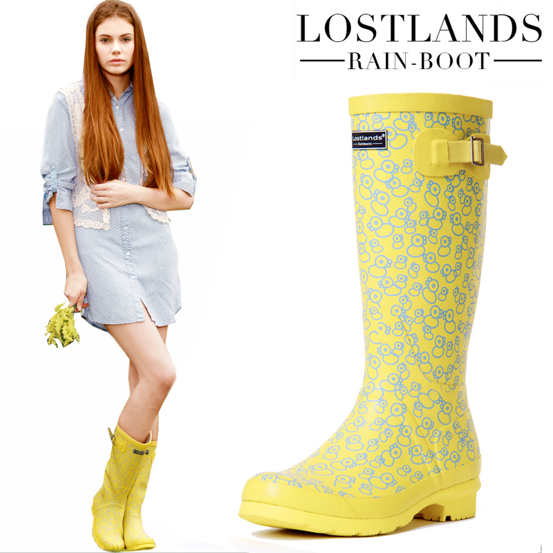Yellow Rain Boots For Women tfMFBMP6