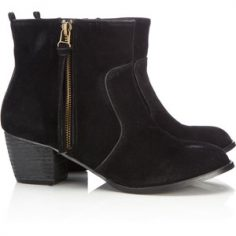 Ankle Low Heel Boots