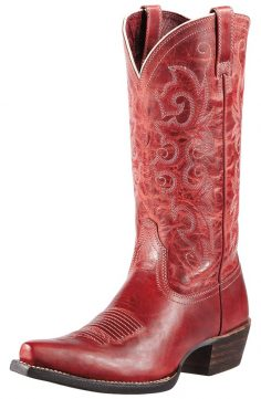 Ariat Red Cowboy Boots