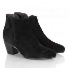 Black Ankle Suede Boots