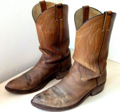 Old Style Cowboy Boots