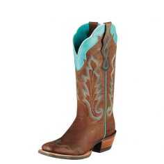 Red Ariat Cowboy Boots