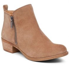 Short Flat Ankle Boots