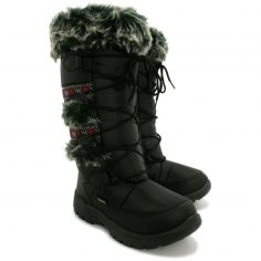 Womens Wide Winter Snow Boots